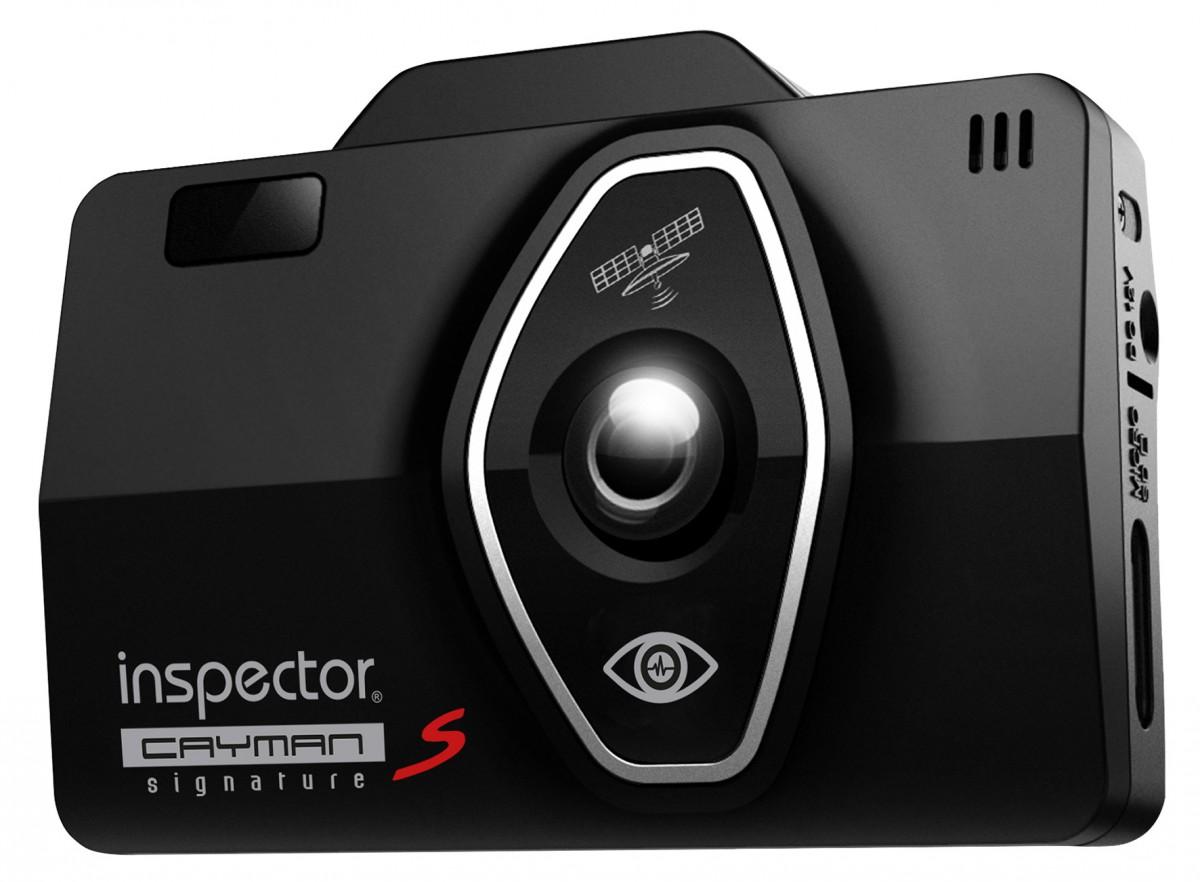 Видеорегистратор + антирадар Inspector Cayman S