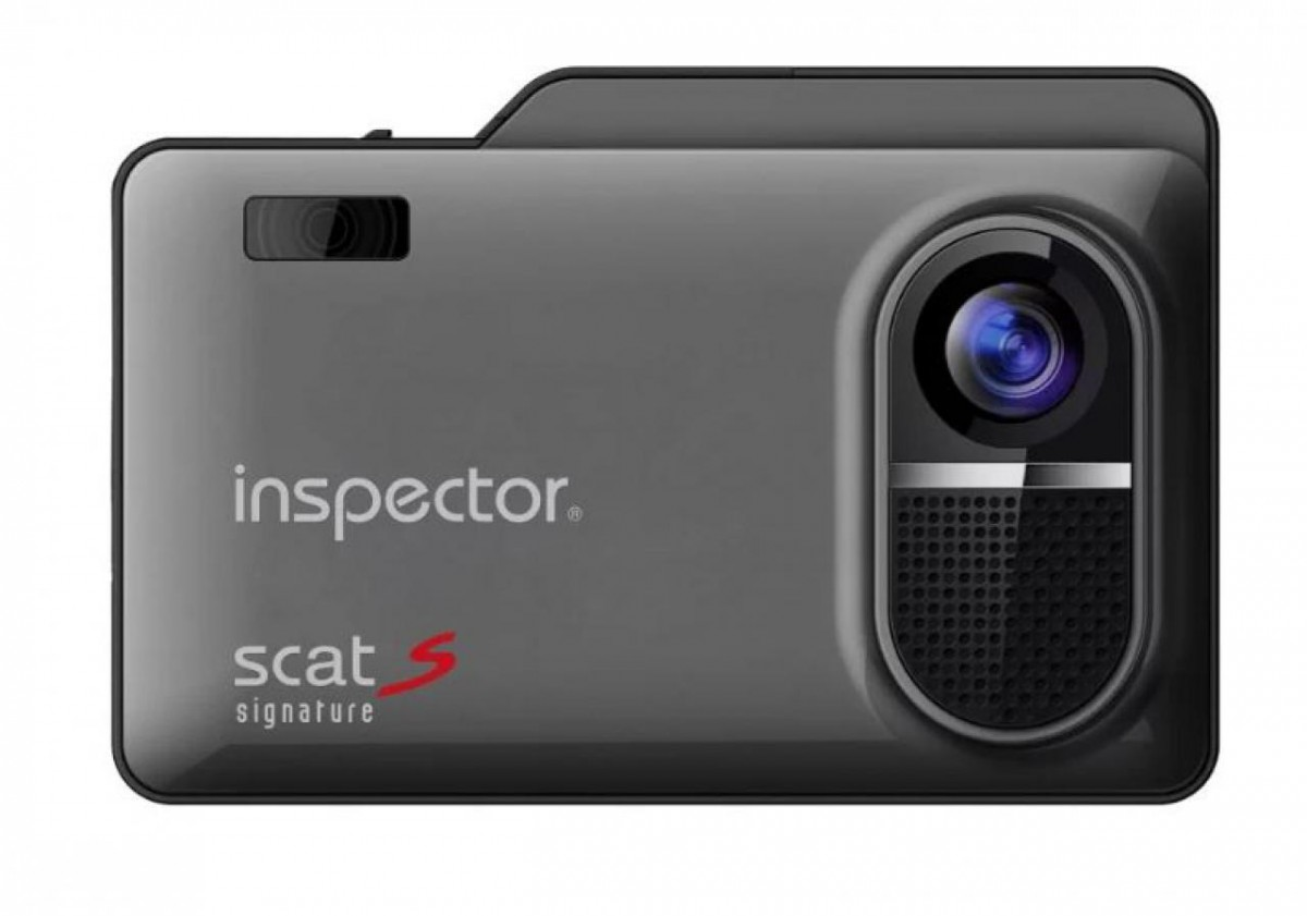 Видеорегистратор + антирадар Inspector Scat S