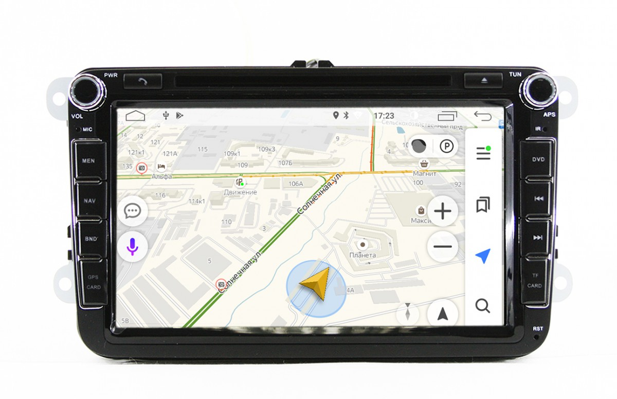 Штатная магнитола на Android MKD для VW, Skoda PQ 8''