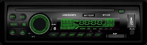 Магнитола Skylor BT-335G (Bluetooth/FM/USB/SD/AUX, 4х45Вт)