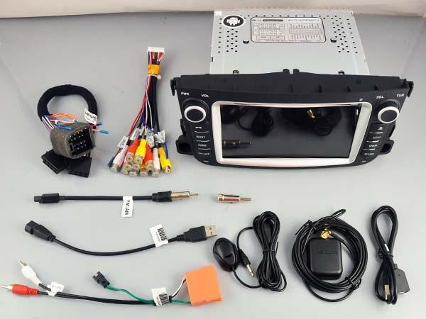 Штатная магнитола на Android W-5502 для Smart Fortwo II