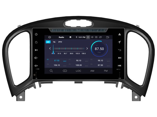 Штатная магнитола на Android W-5363 для Nissan Juke I