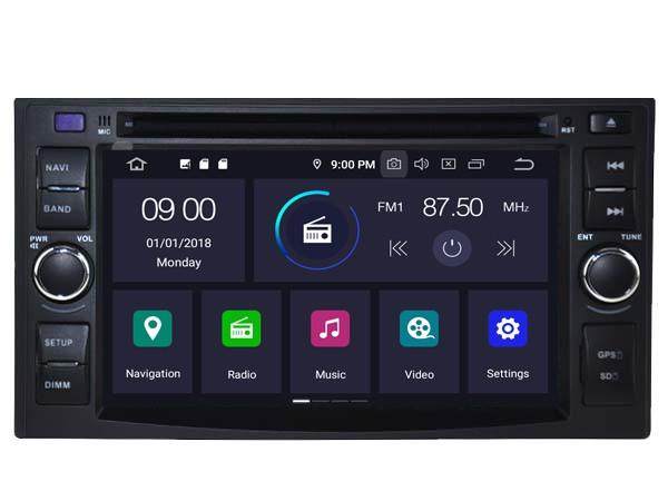 Штатная магнитола на Android W-5542 для Hyundai H-1 II