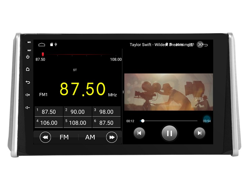 Штатная магнитола на Android W-DKS9710 для Toyota RAV 4 V (XA50)