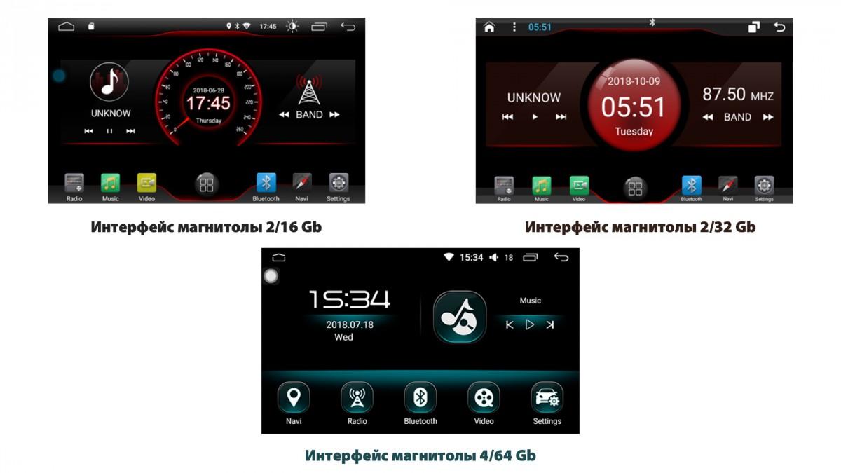 Штатная магнитола на Android W-DKS9707 для Toyota Corolla XII (E210)