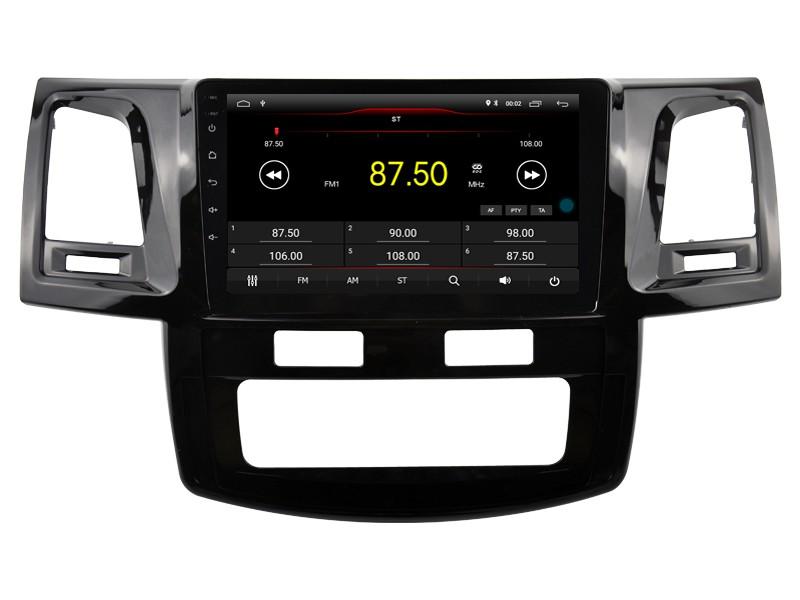 Штатная магнитола на Android W-DKS9138 для Toyota Hilux VII Рестайлинг