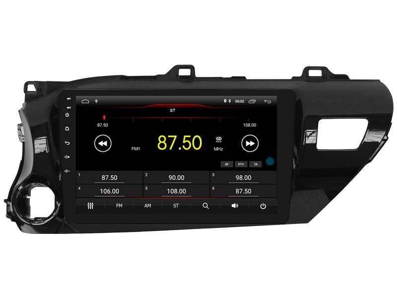 Штатная магнитола на Android W-DKS9141 для Toyota Hilux VIII