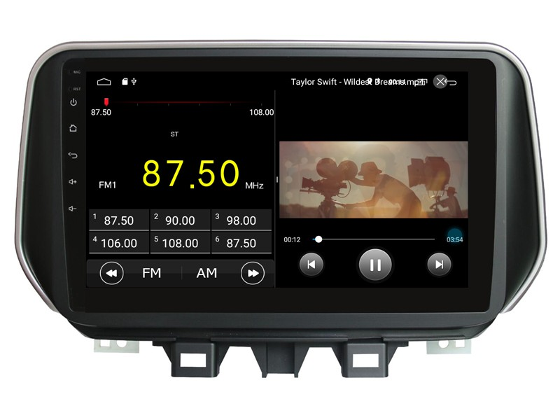 Штатная магнитола на Android W-DKS9292 для Hyundai Tucson III Рестайлинг