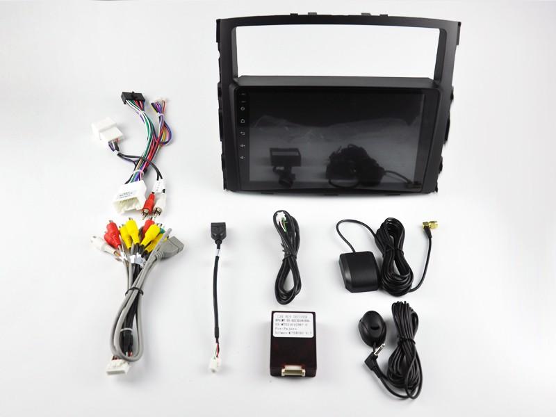 Штатная магнитола на Android W-DKS9846 для Mitsubishi Pajero IV