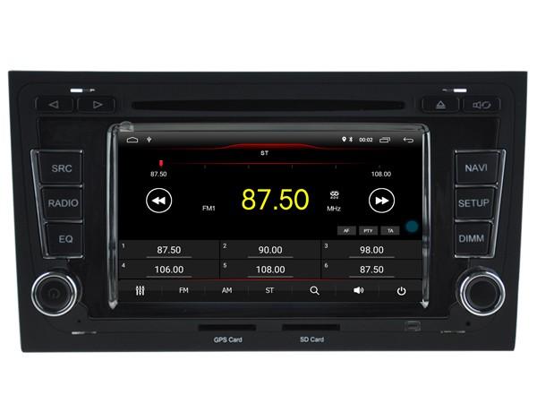 Штатная магнитола на Android W-K5764 для Audi A4/S4/RS4 B6