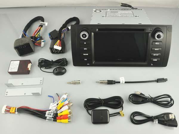 Штатная магнитола на Android W-KS6800 для BMW 5 e39, X5 e53