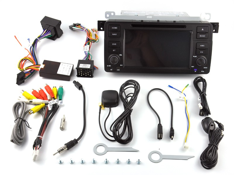 Штатная магнитола на Android W-KS6801 для BMW 3 e46
