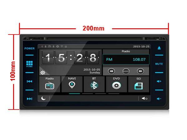 Штатная магнитола на Android W-K6149 для Toyota Corolla IX (E120, E130)