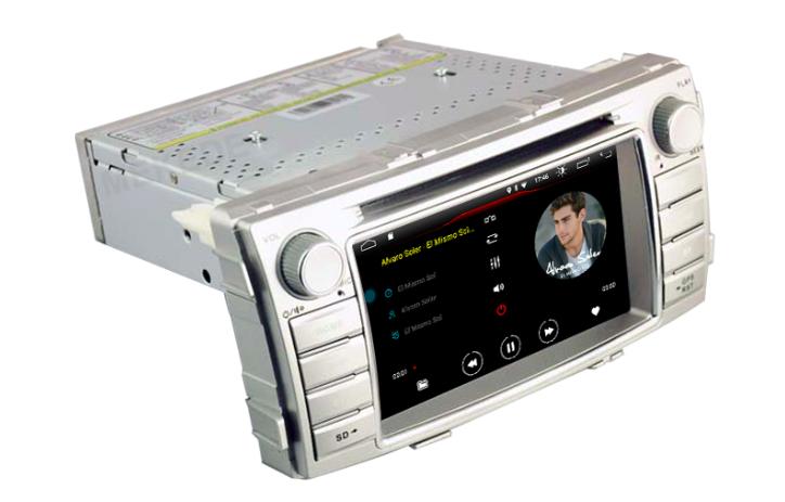 Штатная магнитола на Android W-K6138 для Toyota Hilux VII