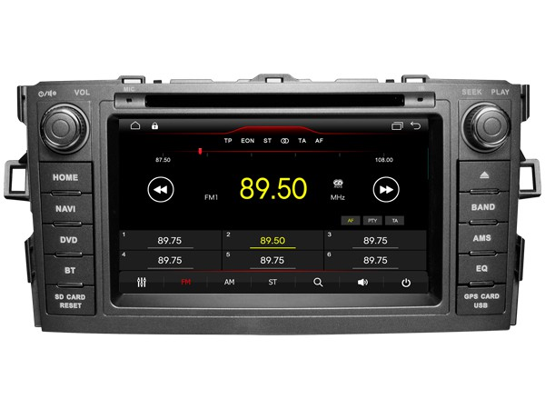 Штатная магнитола на Android W-K6135 для Toyota Auris I