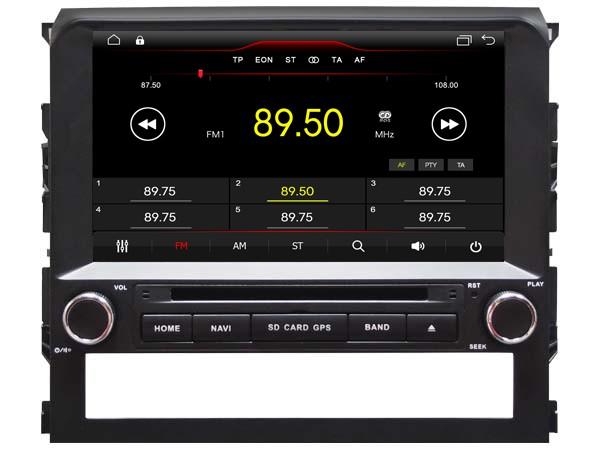 Штатная магнитола на Android W-K6148 для Toyota Land Cruiser 200 Рестайлинг 2