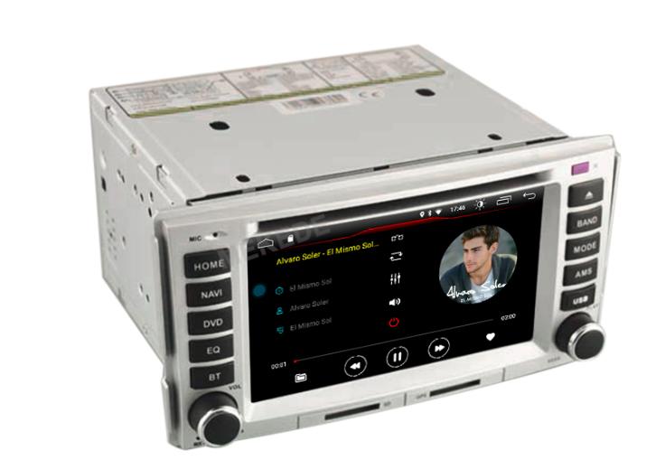 Штатная магнитола на Android W-K6268 для Hyundai Santa Fe II