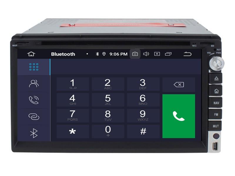 Штатная магнитола на Android W-RVF7638 для Nissan Universal