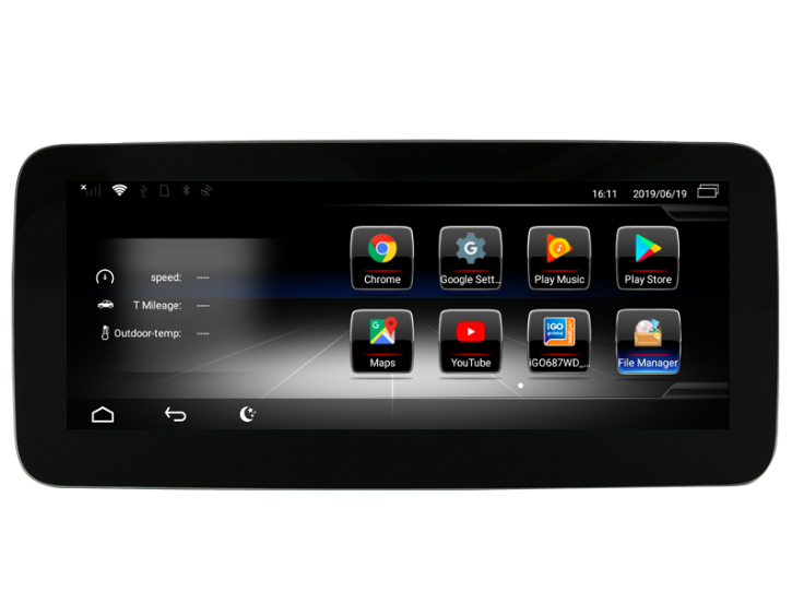 Штатная магнитола на Android W-ZC1002B для Mercedes-Benz B-klasse W246