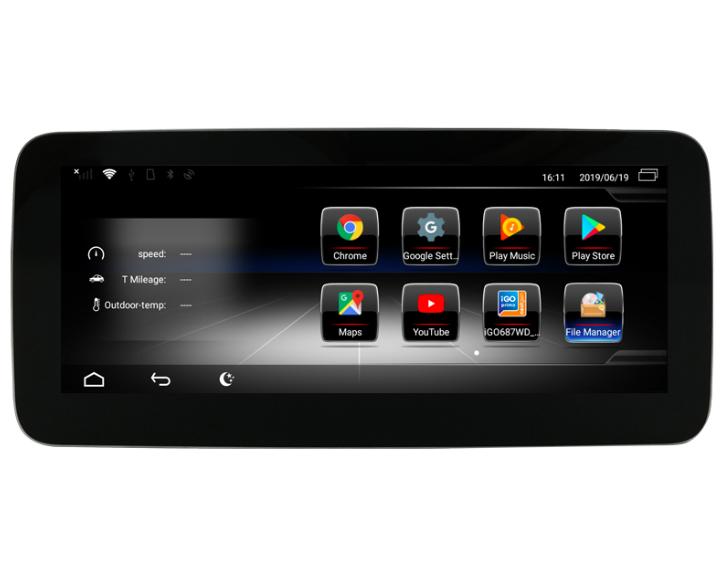 Штатная магнитола на Android W-ZC1002C для Mercedes-Benz B-klasse W246 рестайлинг