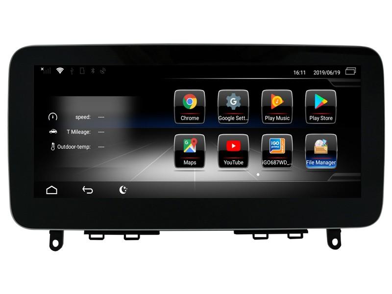 Штатная магнитола на Android W-ZC1003A1 для Mercedes-Benz C-klasse W204