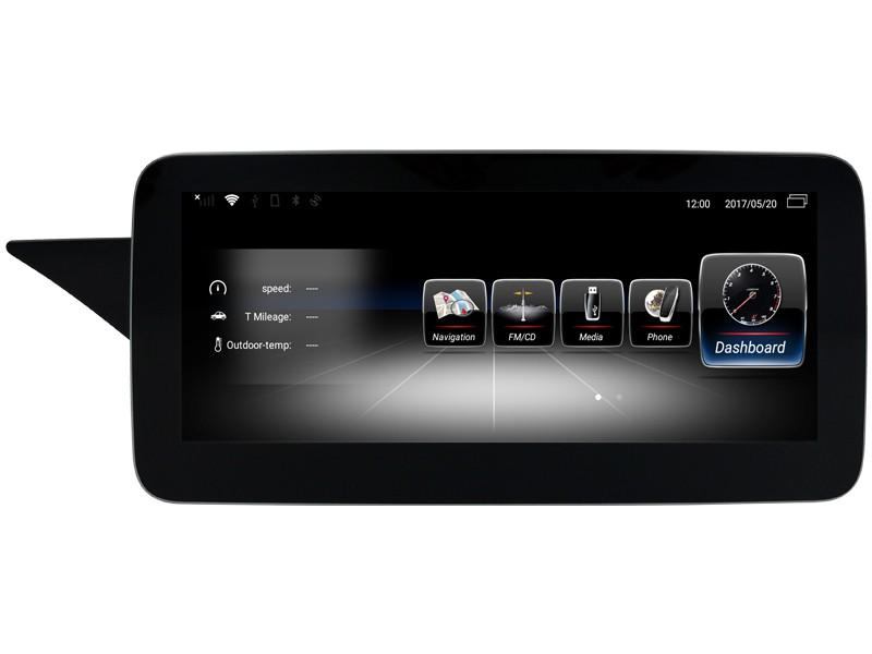 Штатная магнитола на Android W-ZC1005A для Mercedes-Benz E-klasse W212