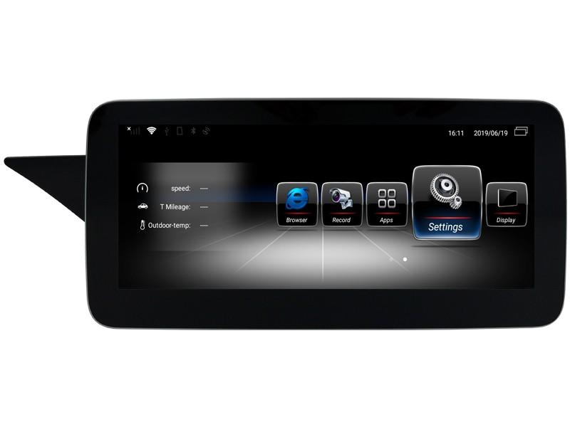 Штатная магнитола на Android W-ZC1005B для Mercedes-Benz E-klasse W212 рестайлинг