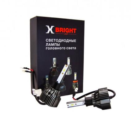 Светодиодные лампы X-Bright S3 CSP (H1, H3, H7, H11, H27, HB3, HB4) - 2500Lm, 5000K