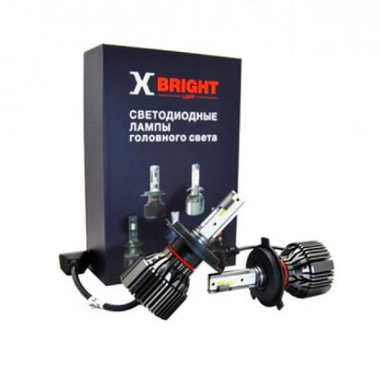 Светодиодные лампы X-Bright S3 CSP (H4 – ближний+дальний) - 2500Lm, 5000K