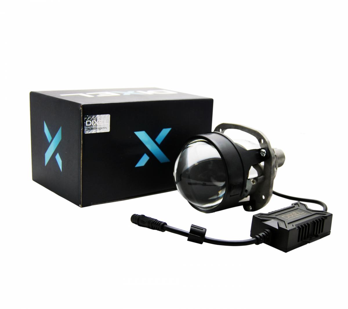 """Светодиодная билинза Dixel mini Bi-LED G5 2.5"""" 5000K"""
