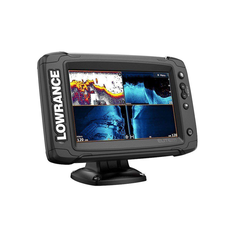 Эхолот-картплоттер Lowrance Elite-7Ti2 с датчиком Active Imaging 3-in-1