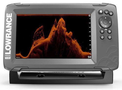 Эхолот-плоттер Lowrance Hook2-7x SplitShot (только GPS, без загрузки карт)