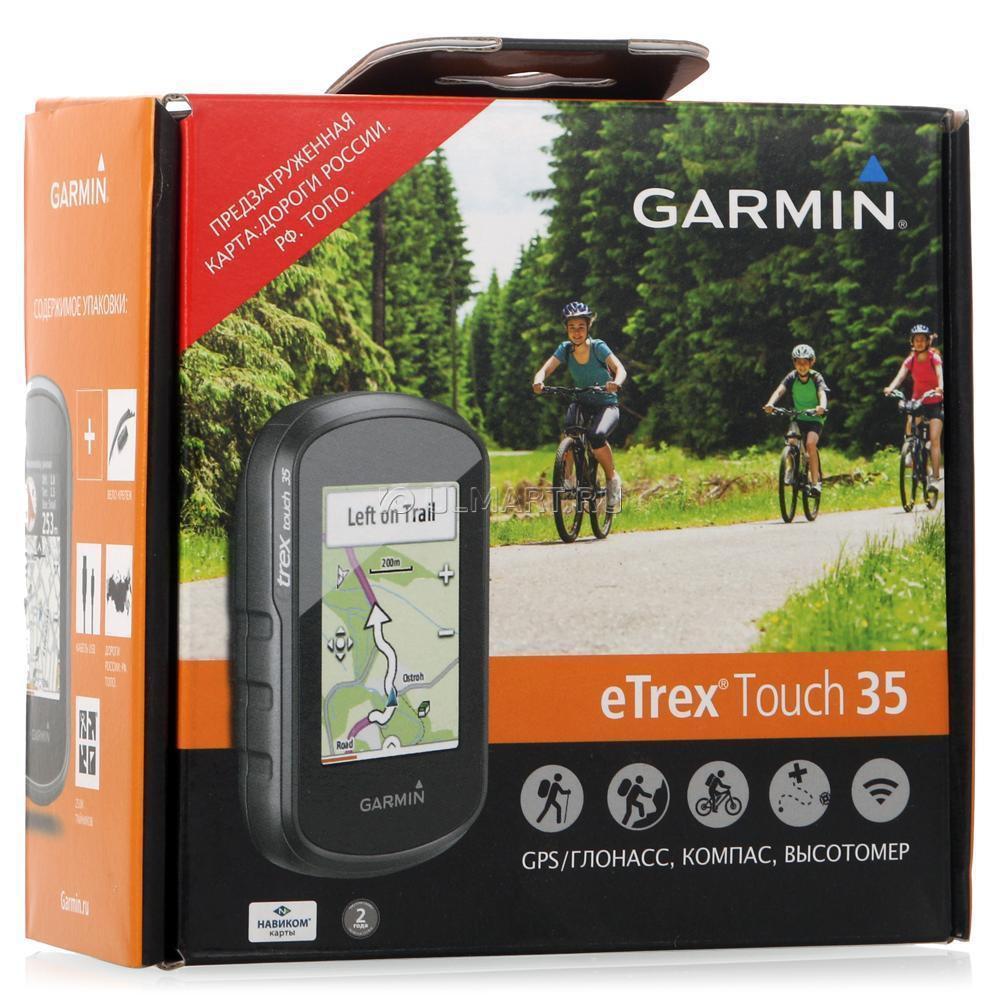 Туристический Навигатор Garmin eTrex Touch 35 GPS/Глонасс Russia